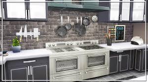 sims 3 modern kitchen the sims 4 build modern kitchen youtube