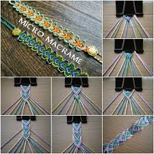 bracelet diy macrame images Diy macrame friendship bracelet pictures photos and images for jpg