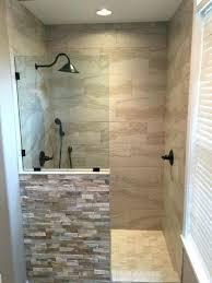 open shower bathroom design open shower ideas trackingtemplate