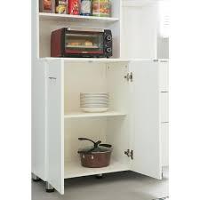 kitchen appliance storage cabinet basicwise white kitchen pantry storage cabinet with doors