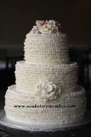 wedding cake tutorial a cake to remember va ruffle wedding cake tutorial