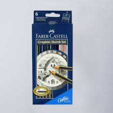 faber castell goldfaber graphite sketch set sketching pencils