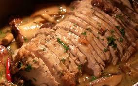 cuisiner roti de porc recette rôti de porc colombo 750g
