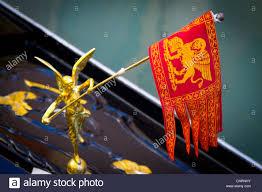 Lion Flag Venetian Lion Flag Venice Stockfotos U0026 Venetian Lion Flag Venice