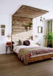 Headboard Designs Wood Bedroom Brown Varnished Wood Diy Headboard Decor