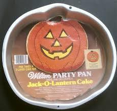 cake pans vintage jack o lantern wilton 2105 3068