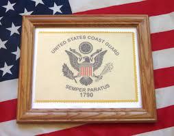 Military Flag Order Framed American Military Flag United States Coast Guard Flag