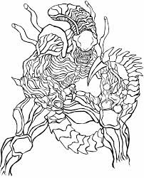 predator coloring pages download print free