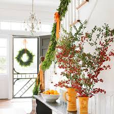 How To Decorate Banister With Garland Keeping The Christmas Spirit Alive 365 25 Ways To Decorate Your