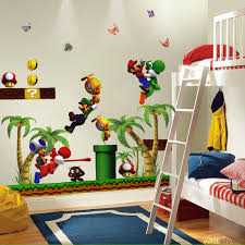 Super Mario Bedroom Decor Inspiration Mario Themed Room For Your Kids Evercoolhomes