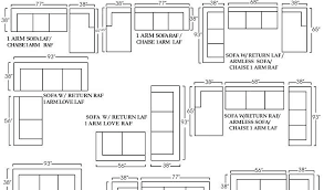Sectional Sofas Dimensions Dimensions Of Sectional Sofa 1025theparty