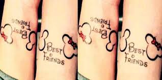 20 amazing disney best friend tattoos ideas yourtango