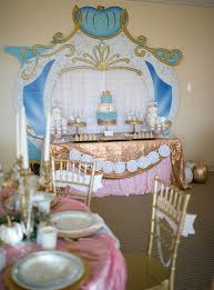 cinderella themed centerpieces kara s party ideas princess cinderella themed birthday party