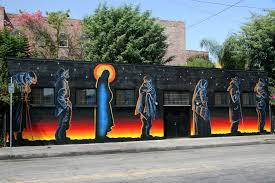 soup kitchen los angeles catholic worker gladys mural 1358