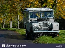 land rover one grey 1950 u0027s land rover series one 86 inch station wagon on country