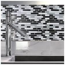 Bathroom Backsplash Tile Kitchen Backsplash Tile Peel And Stick White Brick Subway For Bathroom