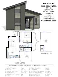 one bedroom house plans with loft modern house plans floor plans contemporary home plans 61custom