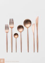 Luxury Cutlery by Moon Flatware Rose Gold Casa De Perrin A Table Pinterest