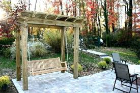 arbor swing plans free freestanding arbor swing plans arbor swing plans a pergola swing