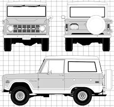 jeep bronco white the blueprints com blueprints u003e cars u003e ford u003e ford bronco 1966
