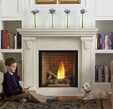Insert For Wood Burning Fireplace by We Replaced An Outdated Wood Burning Fireplace With A Natural Gas