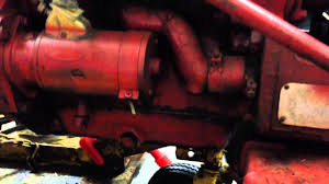 farmall cub oil change youtube