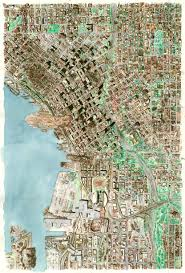Google Maps Seattle by Tony Dowler Map