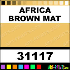 africa brown mat artist airbrush spray paints 31117 africa