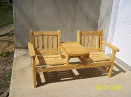 two seat garden bench by steveosshop lumberjocks com