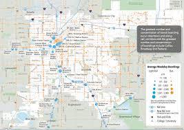 Usa Rail Network Map by Denver U0027s Unwalkable Rail Network Visualized U2013 Streetsblog Denver