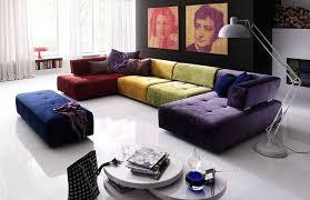 sofa bunt bunte wohnlandschaft reno 7066 diese erstrahlt in den