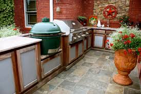 cheap outdoor kitchen ideas design with cabinets pictures building