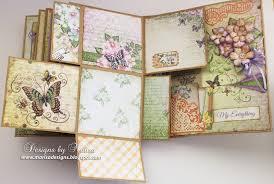flip photo album designs by marisa heartfelt creations 3d flip fold album mini