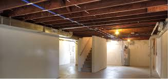 Unfinished Basement Bedroom Interior Basement Bedroom Unfinished Ceiling Inside Delightful