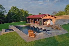 pool house designs with outdoor kitchen