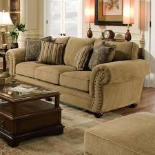 Traditional Living Room Furniture Stores by Simmons Upholstery 4277 Traditional Sofa With Rolled Arms And