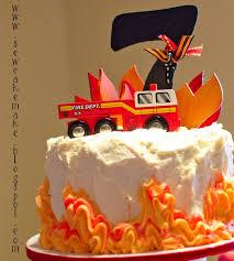 fire truck birthday cake the sew er the caker the copycat maker