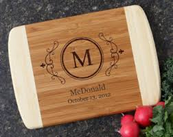 monogramed cutting boards engraved cutting boards home design and decorating