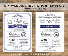 Diy Wedding Invitation Templates Handmade Artist Archives The Wedding Specialists Projects To