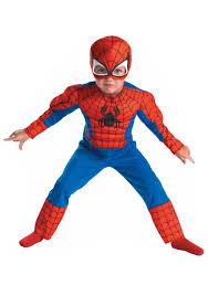 Brobee Halloween Costume Deluxe Toddler Spiderman Costume Halloween Toddler