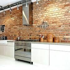 brick kitchen ideas exposed brick kitchen best exposed brick kitchen ideas on brick wall