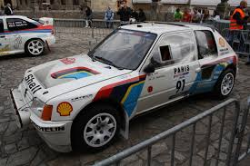 peugeot 205 rally file peugeot 205 t16 8 jpg wikimedia commons
