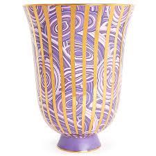 malachite stripe urn pottery jonathan adler