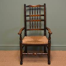 Antique Oak Ladder Back Chairs Edwardian Oak Antique Lancashire Ladder Back Chair Antiques World