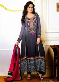 indian celebrities salwar kameez latest fashion 2014 beautiful