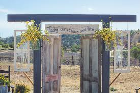 wedding backdrop rustic beautiful country wedding backdrops 1000 images about doors on