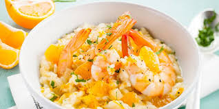 recette de cuisine cookeo risotto de gambas à l orange au cookeo recettes femme actuelle