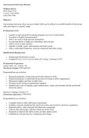 doc 618800 electrician resume template u2013 unforgettable