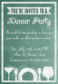 Dinner Invitation Dinner Invite Template Cloveranddot Com