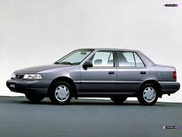 hyundai excel review and photos